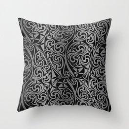 Celtic Warlord titanium Throw Pillow
