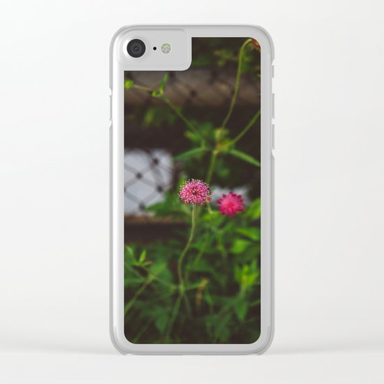 Flourish Clear iPhone Case