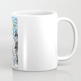 The Star - A Floral Print Coffee Mug