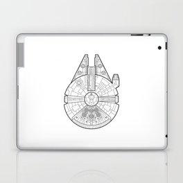 Millenium Falcon. Laptop & iPad Skin