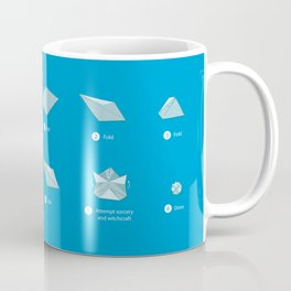 Step-by-step Origami Coffee Mug