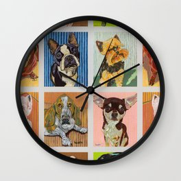 Nine Loves Wall Clock
