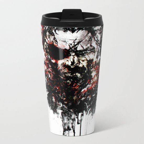 Metal Gear Solid V: The Phantom Pain Metal Travel Mug