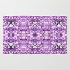 lilac stone flower Rug