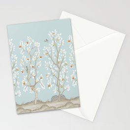 Citrus Grove Mural in Mist Stationery Cards