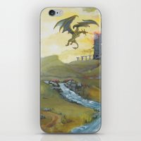 skyrim iPhone & iPod Skins featuring Skyrim by mixedlies