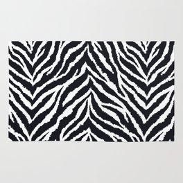 Zebra fur texture Rug