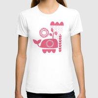 folk T-shirts featuring folk whale by ottomanbrim