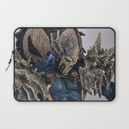 blue Spawn Laptop Sleeve