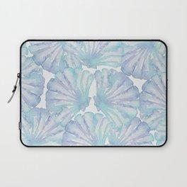 Shell Ya Later - Turquoise Seashell Pattern Laptop Sleeve