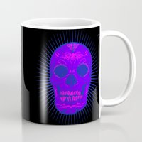 calavera Mugs featuring Calavera by Joe Baron