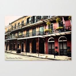 French Quarter Canvas Print
