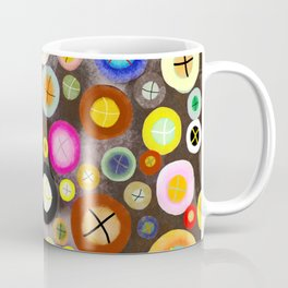 The incident - Circles pale vintage cross Coffee Mug