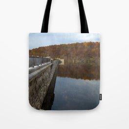 Reflecting Clouds Tote Bag