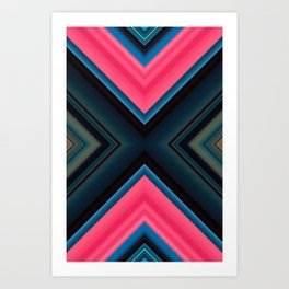 Bubblegum Darkness Art Print