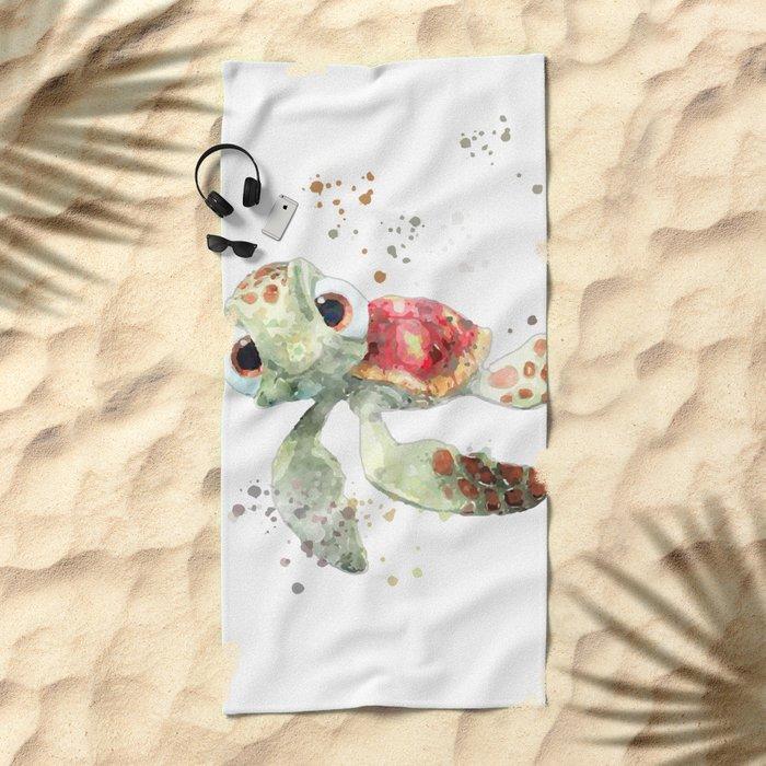 Nemo turtle Beach Towel