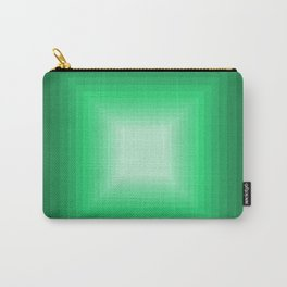 Green Square Gradient Carry-All Pouch