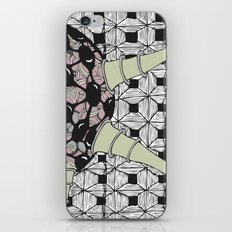 Powder particle iPhone & iPod Skin