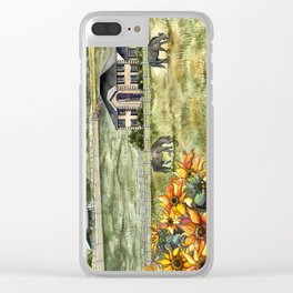 The Horse Ranch Clear iPhone Case