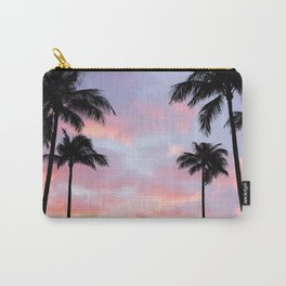 Palm Trees and Sunset Carry-All Pouch