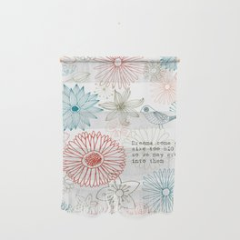 Floral dreams Wall Hanging