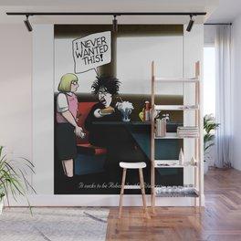 Robert Smith's Waitress Wall Mural
