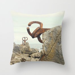 Peine del Viento Throw Pillow