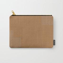 Pastel Orange Design Carry-All Pouch