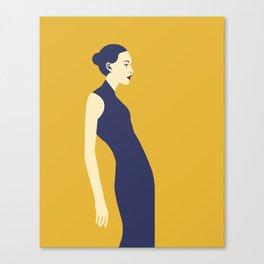 Celandine Yellow Canvas Print