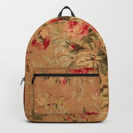 Vintage Floral Pattern Backpack