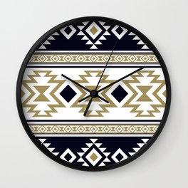 Aztec Ethnic Pattern Art N10 Wall Clock