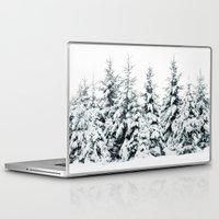 snow Laptop & iPad Skins featuring Snow Porn by Tordis Kayma