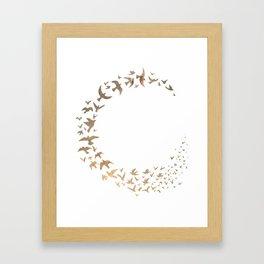 Starbirds Framed Art Print