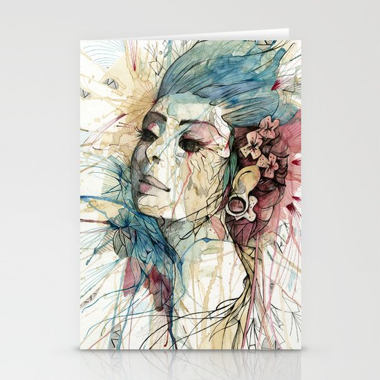 Lady | Natural Fashion Stationery Cards