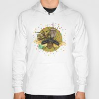 insect Hoodies featuring Insect Universe by dogooder