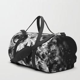 owl perfect black white Duffle Bag