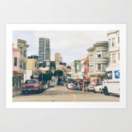 San Francisco North Beach Art Print
