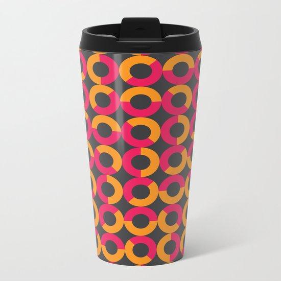 cntmprryptrn01 Metal Travel Mug