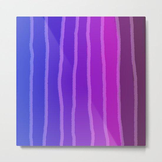 Vertical Color Tones #4 Metal Print