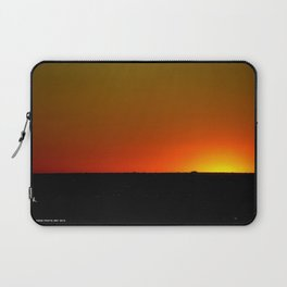 There's A Feeling I Get When I Look To The West #1 (Chicago Sunrise/Sunset Collection) Laptop Sleeve