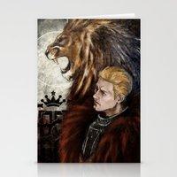 """dragon age inquisition Stationery Cards featuring Dragon Age Inquisition - Cullen - Fortitude by Barbara """"Yuhime"""" Wyrowińska"""