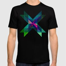 X Marks the Spot MEDIUM Mens Fitted Tee Black