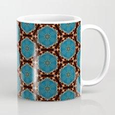 Brown Blue Azalea 1 Mug