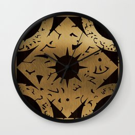 Lament Configuration Side F Wall Clock