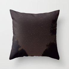 Starry Vista Throw Pillow