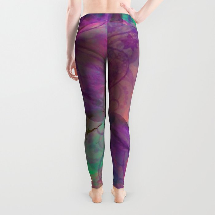 Butterfly Love Abstract Leggings