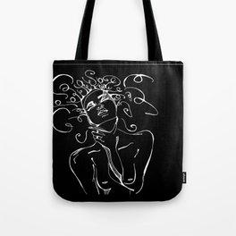 black War in the mind Tote Bag