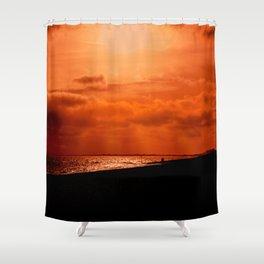 Hythe Sunset Shower Curtain