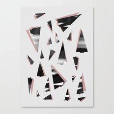 80s Trees Canvas Print