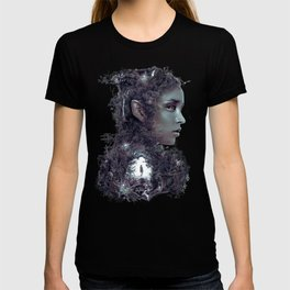 Entering the Dark Elf Realm T-shirt